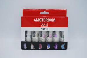 AAC parelmoer set 6x20ml logo