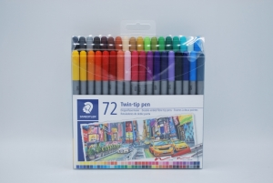 Twin-tip pen 72st logo