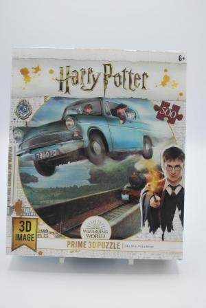 Puzzel Harry Potter 3D 500st logo
