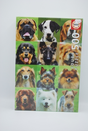 Dogs Collage 500st logo