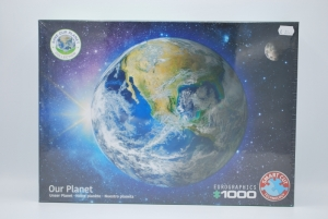 Puzzel 1000st save the planet logo