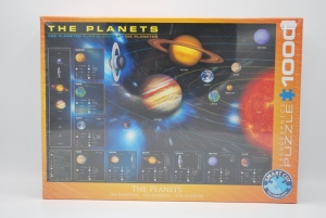 Puzzel 1000st the planets  logo