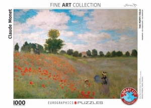 Puzzel 1000st The Poppy Field  logo