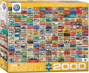 Puzzel 2000st The Groovy Bus logo