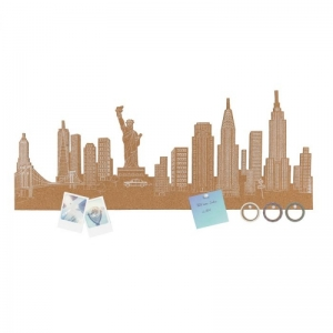 Memo skyline of New York logo